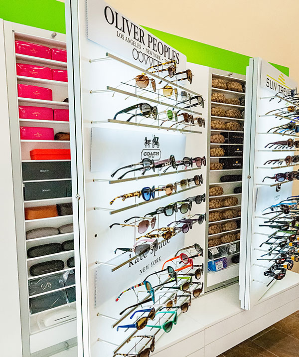 optical retail eyecare practice INVISION eye boutique of sedona