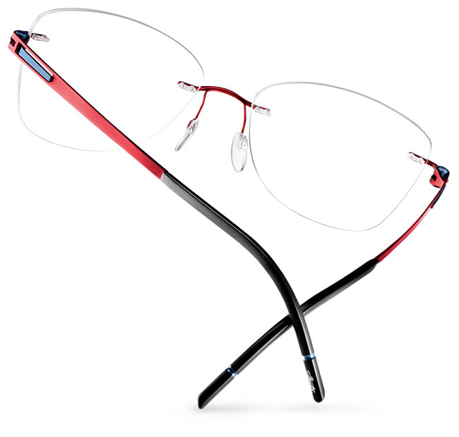 Silhouette new rimless styles