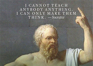 optical sales tips from Socrates