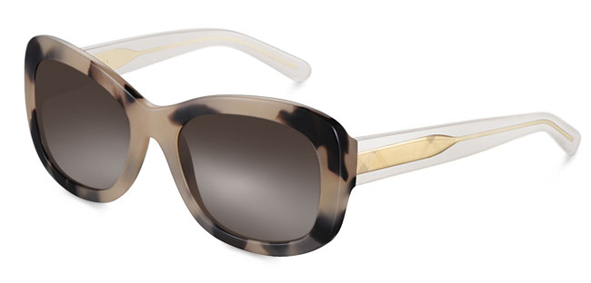 Trend-coat inspired sunglasses from Burberry