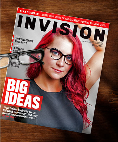 the top magazine for eyecare professionals INVISION