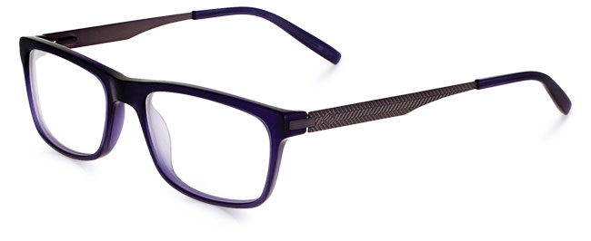 Model JA4050 eyeglass frames from Joseph Abboud