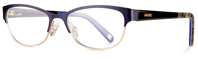 nw 1055 eyeglass frames from nine west eyewear