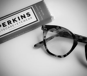 Eyewear and chocolate from Perkins