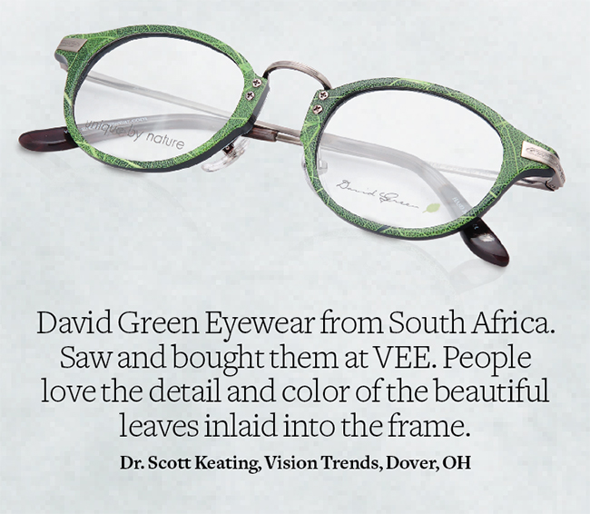 Palm from David Green Eyewear