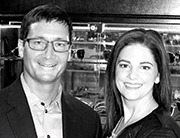 Stephanie Haenes and Dr. Timothy Haupert of Art of Optiks