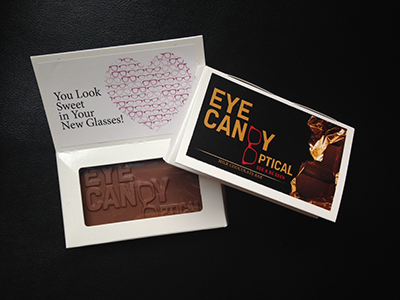 Candy bar gift from Eye Candy Optical