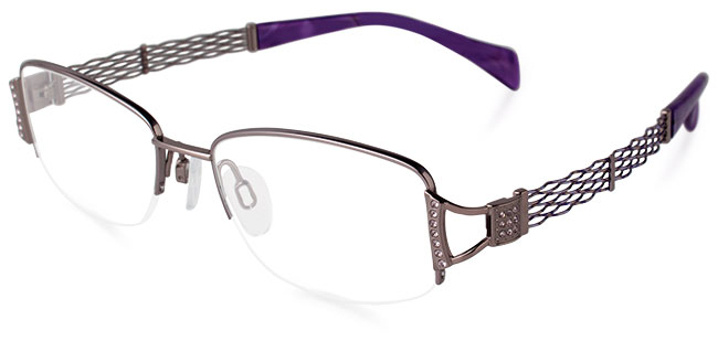 Model XL2068 eyeglass frames from Lineart Charmant
