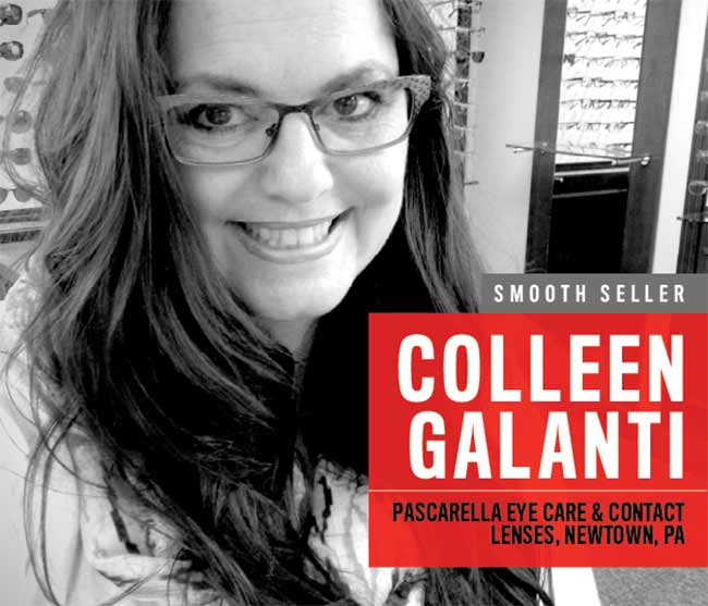 Smooth seller Colleen Galanti