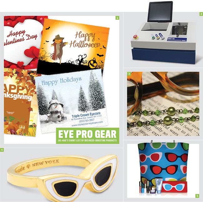 Roundup of best gear for eyecare professionals for July-August