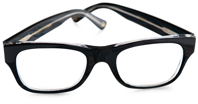 President eyewear frames from Oliver Goldsmith