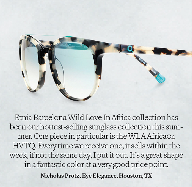 Etnia Barcelona Wild Love in Africa sunglasses