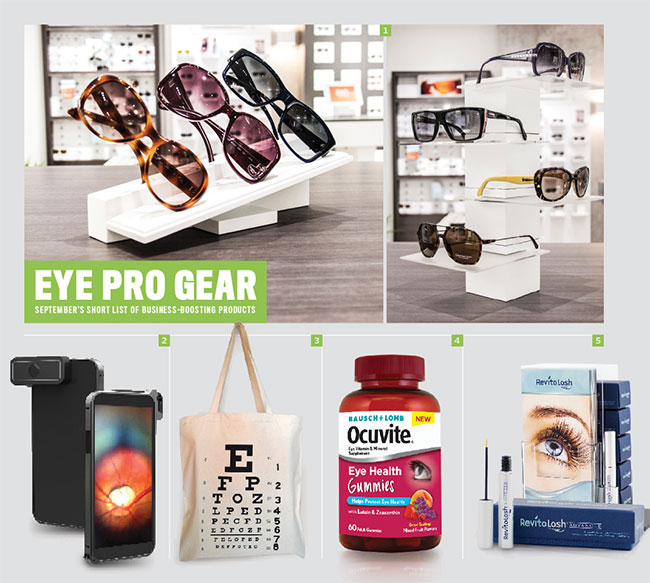 Best stuff for eyecare pros for September 2015