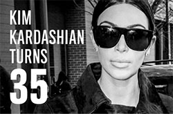 Happy birthday, Kim Kardashian