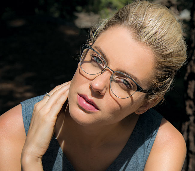 Oxford eyeglass frames from Leisure Society