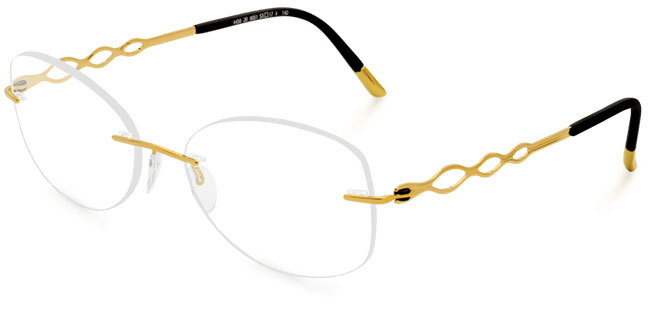 Charming Diva eyeglass frames from Silhouette