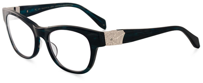 Zoe eyeglass frames from Sama Eyewear
