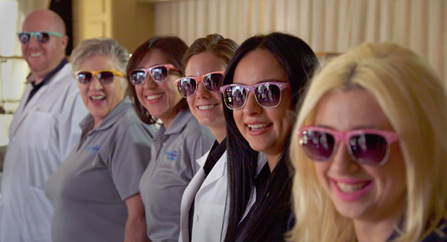 Dr. Lee Dodge and the team at VisualEyes