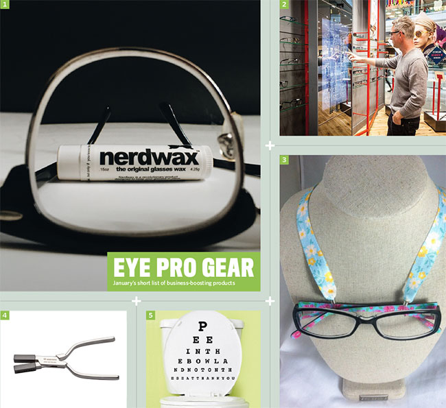 Best stuff for eyecare pros for January 2016