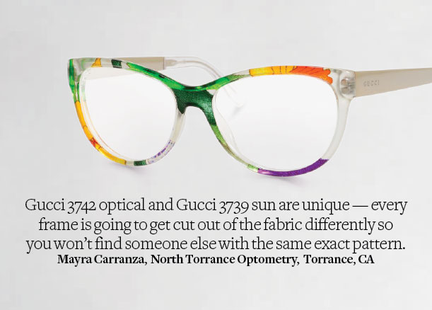 Gucci eyeglasses model 3742