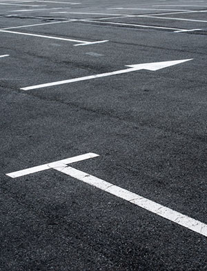 Name parking lot rows for your designers