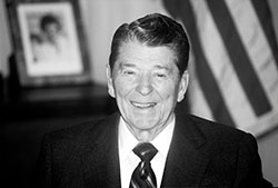 Happy birthday, Ronald Reagan