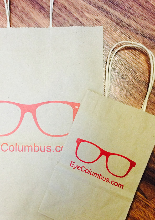 Shopping bags from Eye Columbus