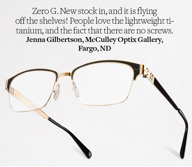 e4e71d2a35 Lake George eyeglasses from Zero G