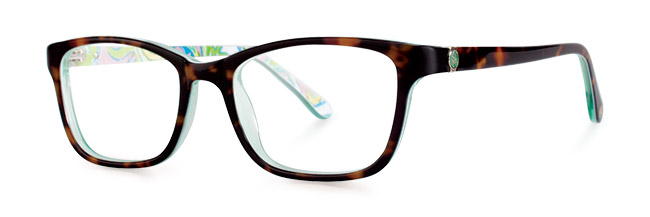 Marlowe eyeglasses from Lilly Pulitzer