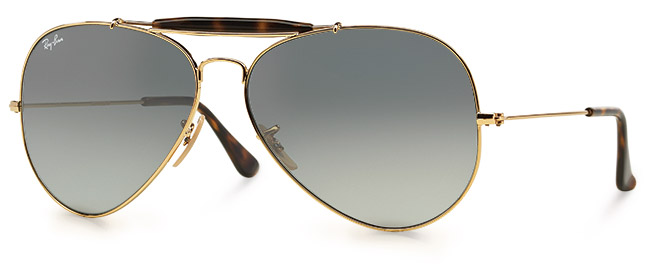 RB3029 aviator sunglasses from Ray-Ban