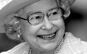 Happy birthday, Queen Elizabeth and your glasses