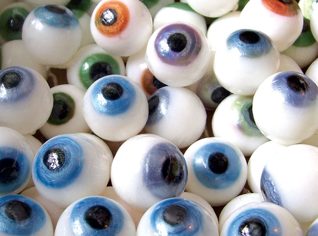 Eyeball soap