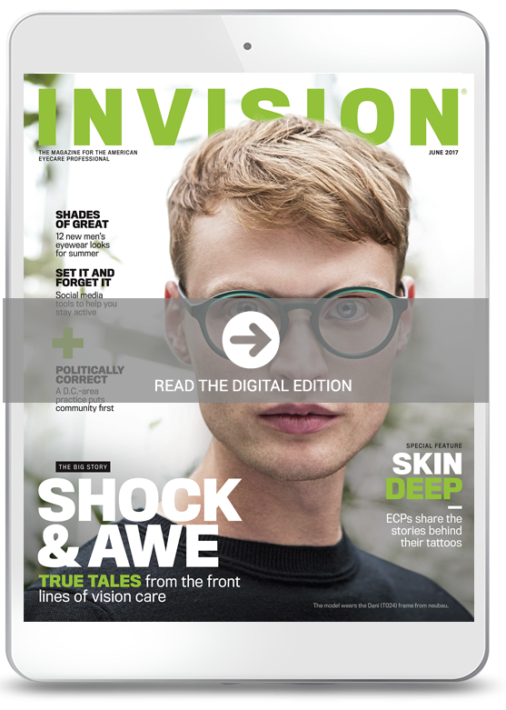 June 2017 cover of INVISION