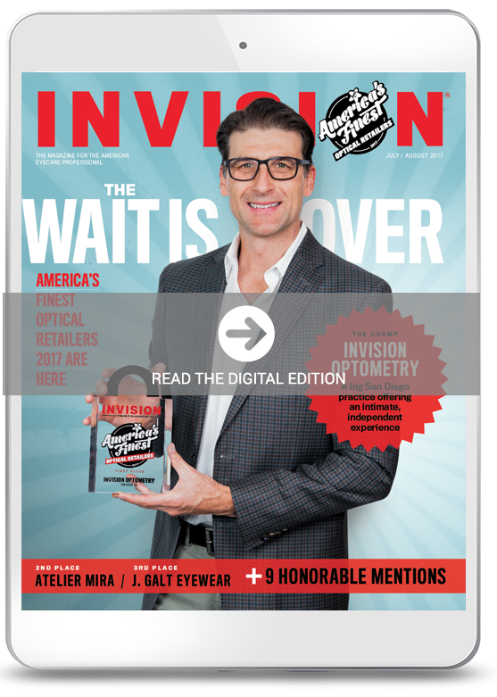 July 2017 cover of INVISION