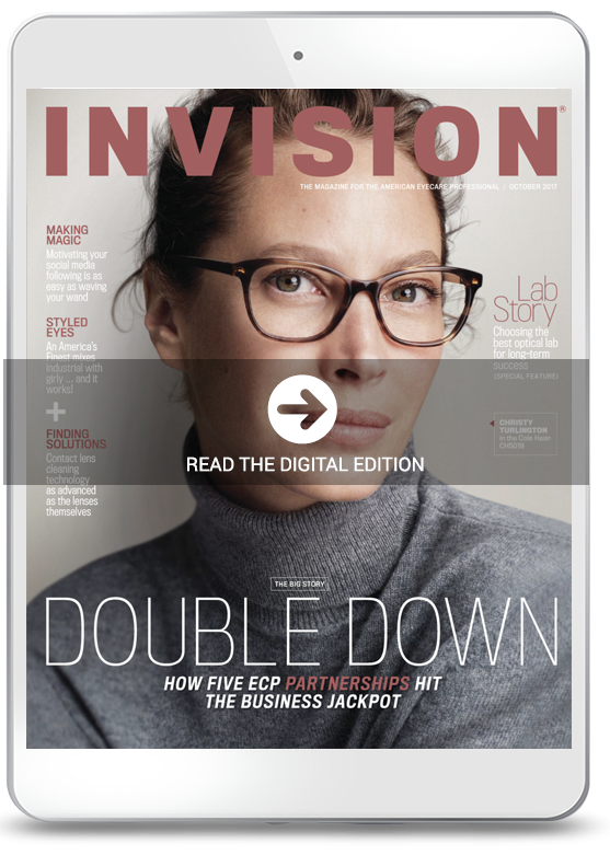 September 2017 cover of INVISION