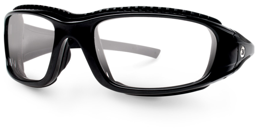 23117287bc HOYA. ZT45 8-base black safety eyeglasses ...
