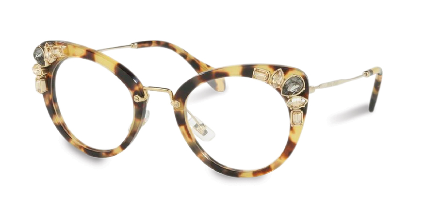 b81bb5242b2c The MIU MIU MU 05PV in Light Havana. Help your patients leave their comfort  zone with this one. William Chancellor