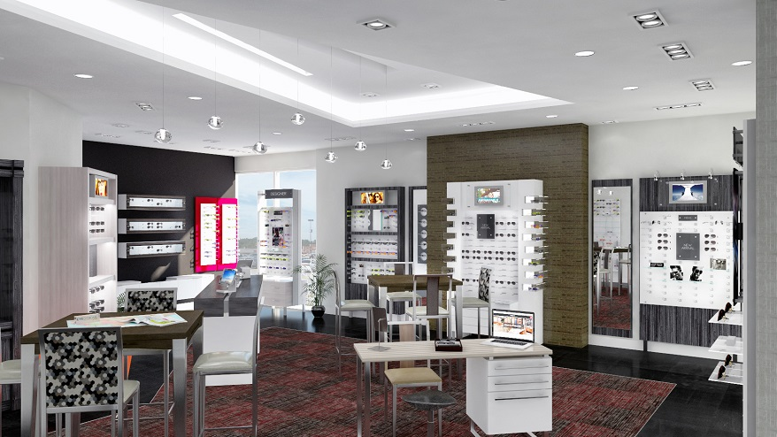 INVISION Eye Designs Group Chino Showroom
