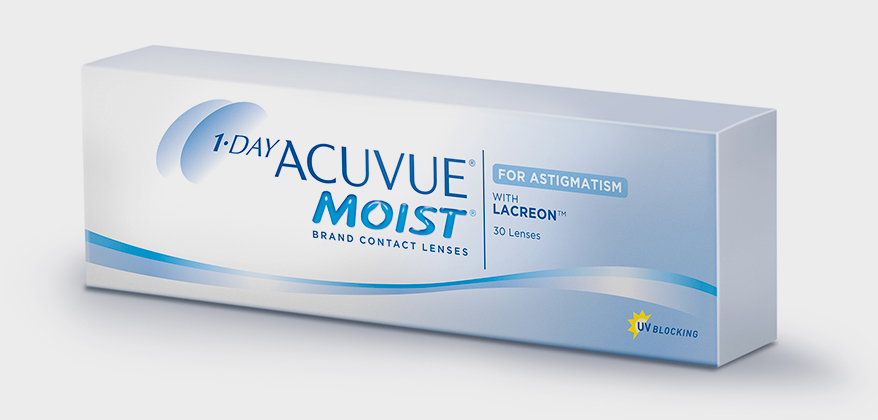 J&J Expands Parameter Offering for 1-Day Acuvue Moist Brand Contact Lenses for Astigmatism