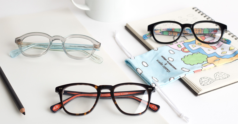 Artsy Vibe: Classic Specs Partners With Three Illustrators to Create Limited Edition Collection