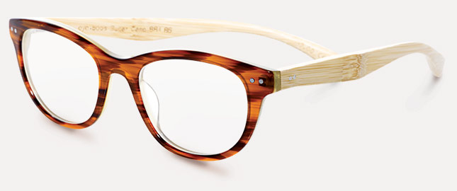 ea70fa3b6323 With classy eco-friendly bamboo temples, Sugar Cane highlights eyebobs'  reader range. Other designs in the collection use brightly colored  materials along ...