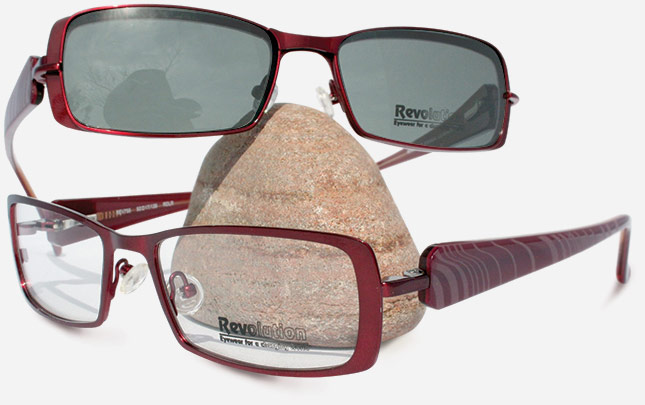 2cbf13e452f Revolution Eyewear continues to raise the bar for magnetic clip-ons. This  sleek lightweight design — the REV755 — comes in cocoa red