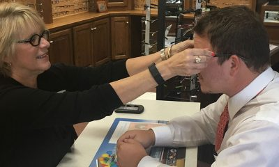 For This Optician, No Fitting is Too Tough