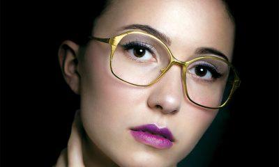 Ofra Haza wearing Spectacle Eyeworks