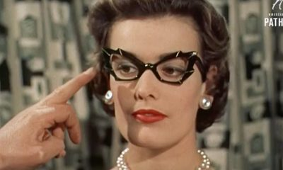 Video Shows Just How Fabulous Eyeglasses Were in the '50s — Take a Look