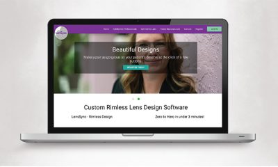 Optician Launches Software Program to Design Lenses for Specific Frames