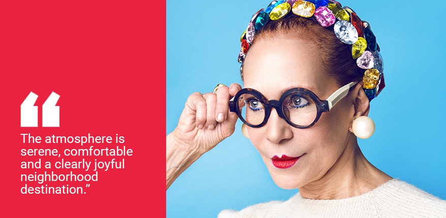 If Fashionista Patricia Fox Owned Her Very Own Optical Retail Business, She'd Start by Doing This