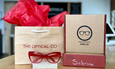 Consistent but Subtle Branding Lets the Eyewear Shine for this Columbus, OH, Start-Up