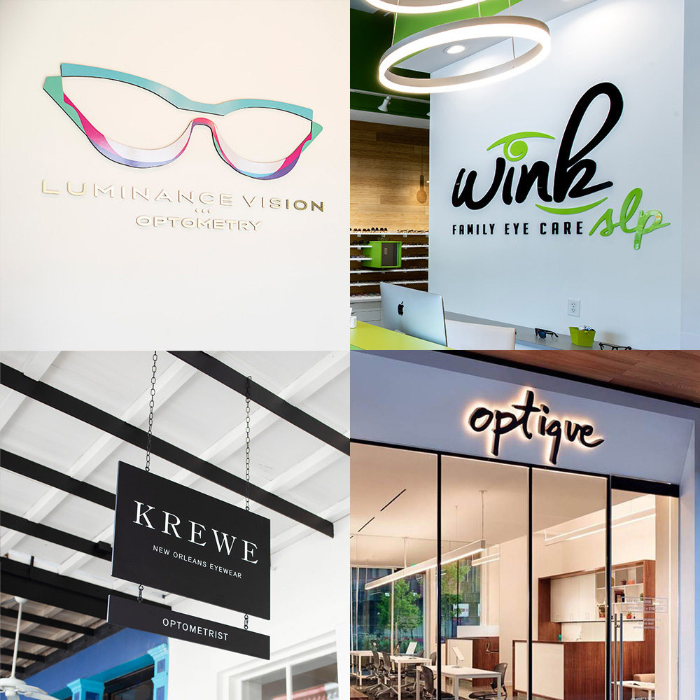 11 Versatile Eye Business Logos That Attract Clients in Many Different Forms