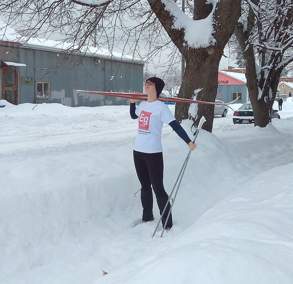Idaho ECP Takes on the Snow in Style … and More Brain Squad Members in Their INVISION T-Shirts